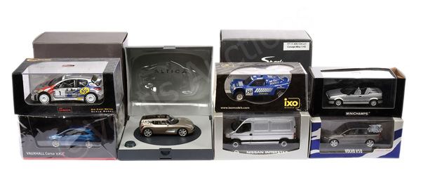 GRP inc mainly (1/43rd scale) Minichamps Renault