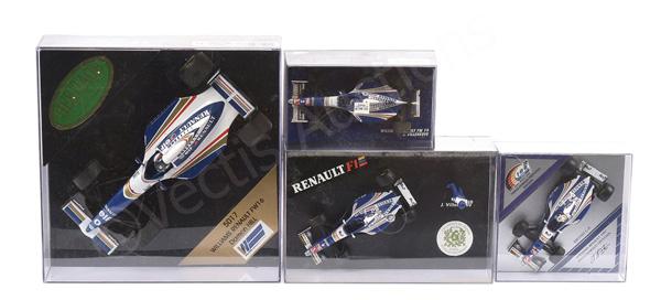 GRP inc Williams Renault Formula 1 Racing Cars