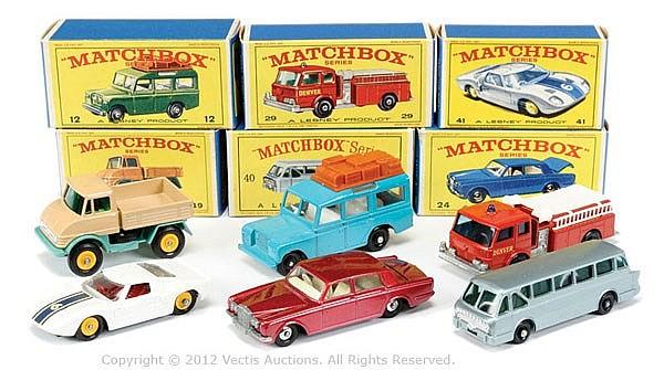 GRP inc Matchbox Regular Wheels No.12C Land
