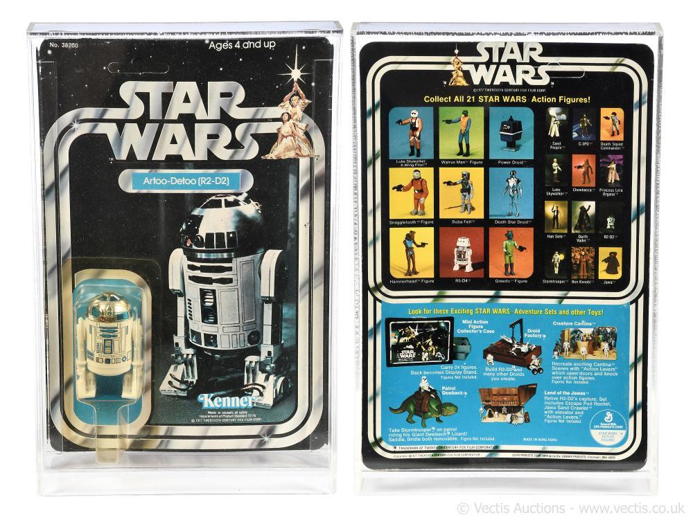 """Kenner Star Wars vintage R2-D2 3 3/4"""" figure"""