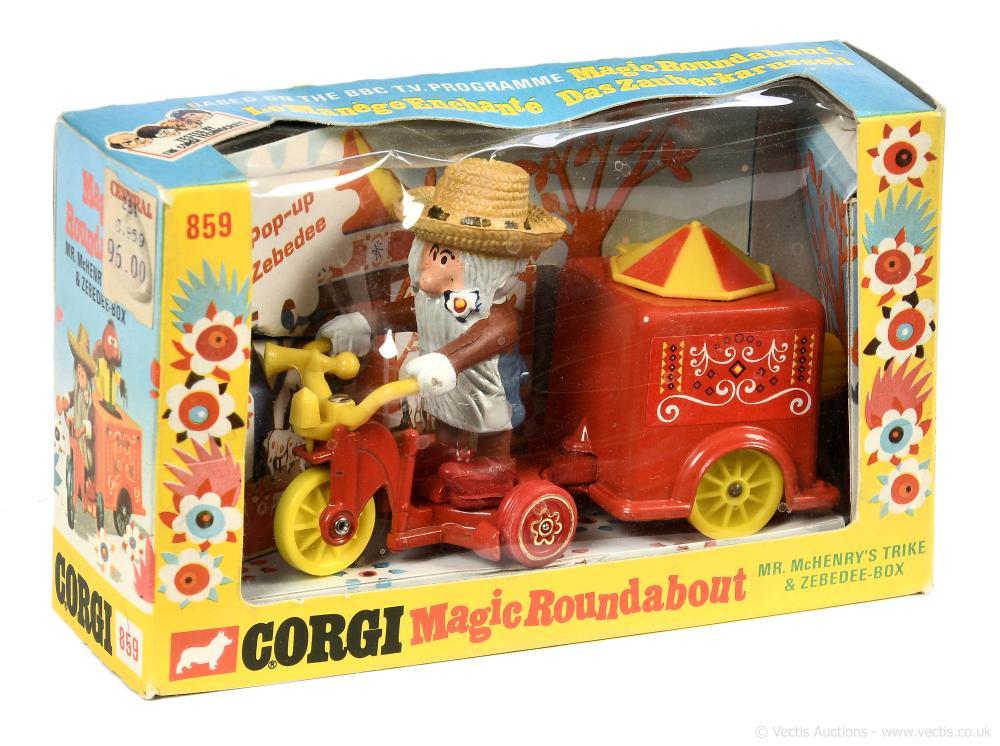 Corgi 859 The Magic Roundabout, Mr McHenry's