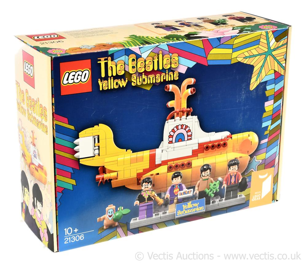 Lego The Beatles Yellow Submarine set number