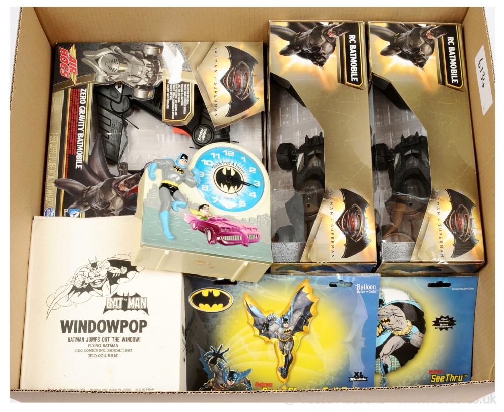 GRP inc Batman & Superman collectables x five