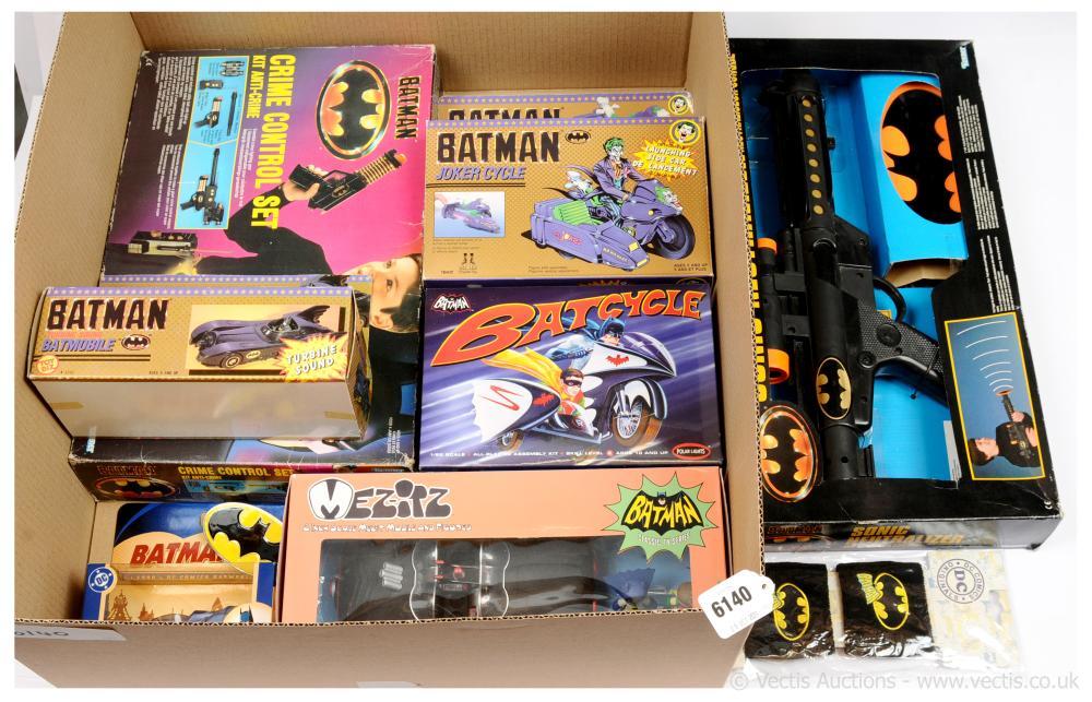 GRP inc Batman collectables x nine Corgi