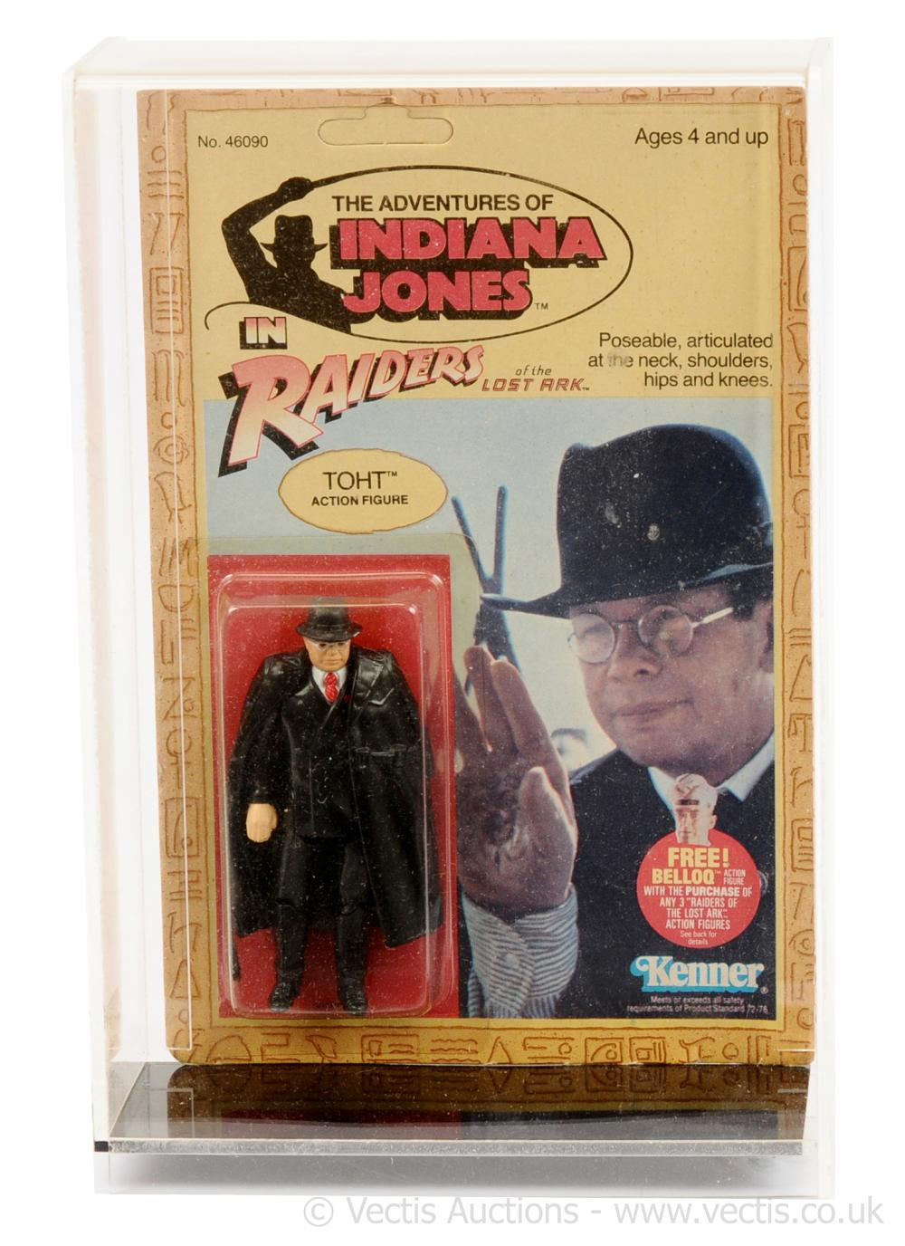Kenner Indiana Jones The Raiders of the Lost Ark