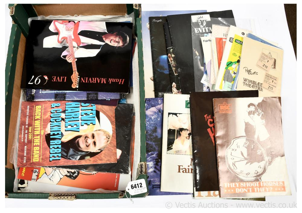 Collection of concert programmes, opera