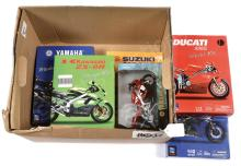 GRP inc Newray Motorbikes (1/12th scale)