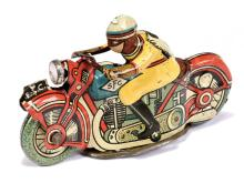 SFC (Italy) Penny Toy Motorcycle. Attractively