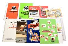 QTY inc mainly trade catalogues Polistil; Brimax