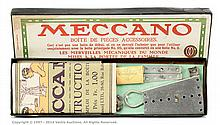 Meccano (France) Set 00A with nickel silver