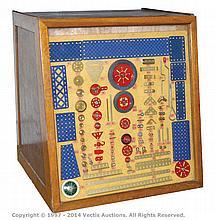 Meccano Original Dealer Display Box a 5-drawer