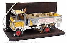 French Meccano display model of a Flatbed Truck