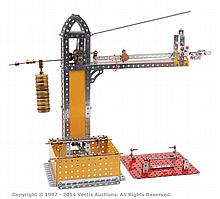 Meccano Model of a Platform Weighing Machine