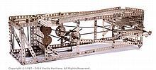 Meccano Model of a Pinball Machine made