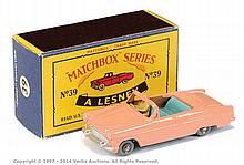 Matchbox Regular Wheels No.39A Ford Zodiac