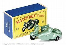 Matchbox Regular Wheels No.36B Lambretta
