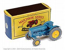 Matchbox Regular Wheels No.72A Fordson Tractor