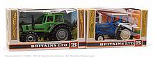 PAIR inc Britains No.9524, 9526 Boxed Tractor