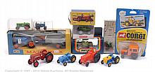 GRP inc Matchbox Farm Tractor - Kingsize K-11