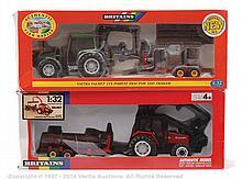 Britains No.9461, 9627 Farm Tractor Set - Valtra