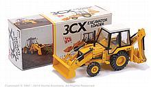 NZG No.277 JCB3CX Excavator Loader - yellow