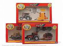 GRP inc Britains Farm Tractor and JCB Set