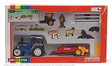 Britains No.9660 Ford Tractor Gift Set - Ford