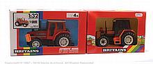 PAIR inc Britains 9503, 9518, Farm Tractor