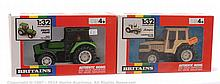 PAIR inc Britains No.9524, 9528 Boxed Tractor