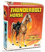 Marx Toys Thunderbolt Horse, condition