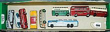 GRP inc Dinky, Corgi and other buses and taxis