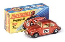 Matchbox Superfast No.15a Volkswagen Beetle