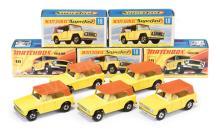 GRP inc Matchbox Superfast 5 x No.18a Field Car