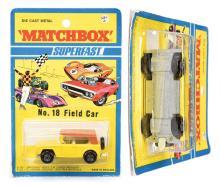 Matchbox Superfast No.18a Field Car - yellow
