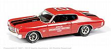 Matchbox Chevrolet Chevelle SS454 1970, red