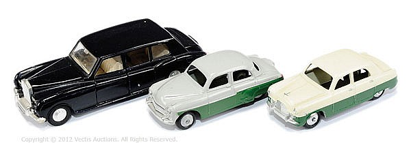 GRP Dinky unboxed 3 inc Ford Zephyr