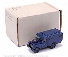 Hart Models Land Rover Mountain Rescue Ambulance