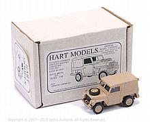 Hart Models HT25 Land Rover Lightweight - 1/48th