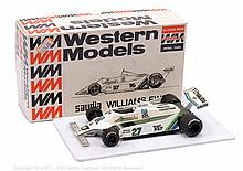 Western Models WF3 SAUDIA Williams FW07 - 1/24th