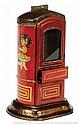 Tinplate Chocolate Vending Machine/Money Bank