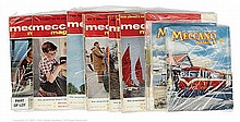 QTY inc Meccano Magazines various loose volumes