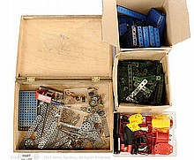 QTY inc Meccano assorted loose Parts a large