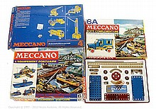 GRP inc French Meccano 3 x Sets