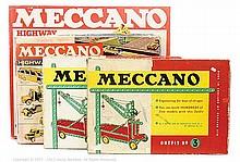 GRP inc Meccano (circa 1960) 2 x Outfit No.3