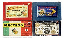 GRP inc Meccano 4 x small Sets: Gears Outfit B