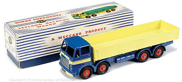 Dinky No.934 Leyland Octopus Wagon - dark blue