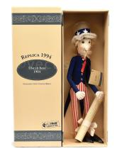 Steiff Uncle Sam replica 1904 felt Doll, 1994