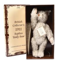 Steiff British Collectors replica 1911 Teddy