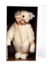 Steiff white muzzle Bear, replica 1908, white