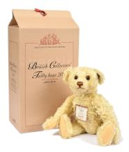 Steiff British Collectors yellow mohair teddy